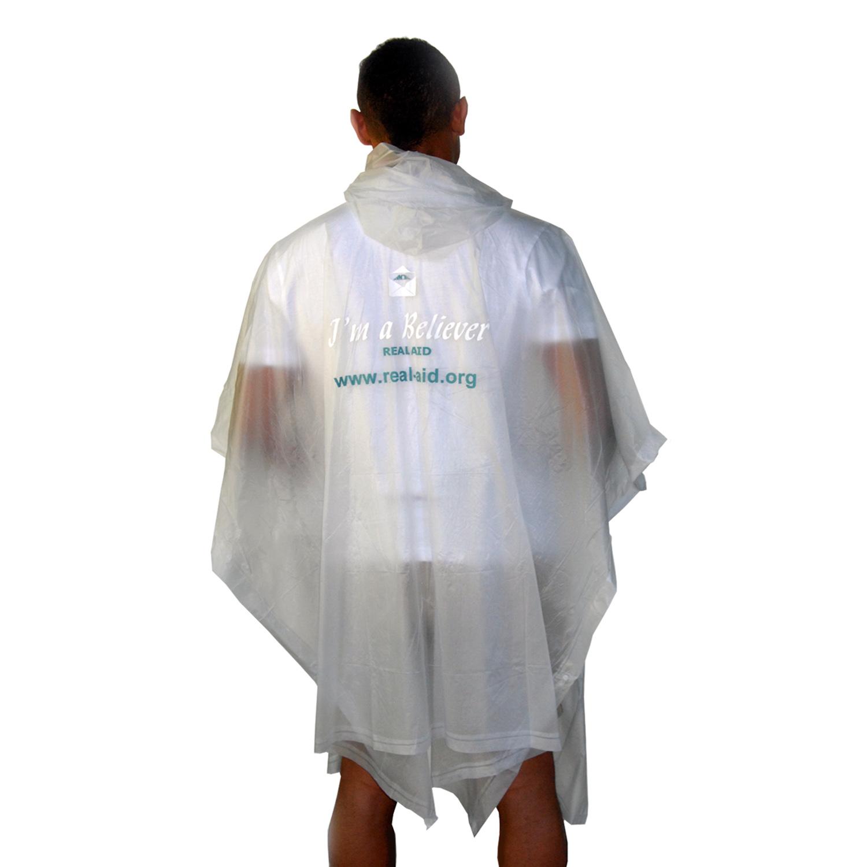 I'm a Believer' Eco Rain Poncho